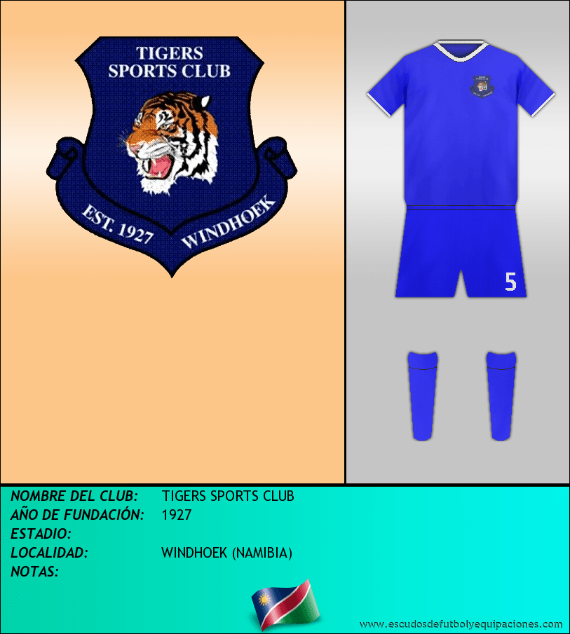 Escudo de TIGERS SPORTS CLUB
