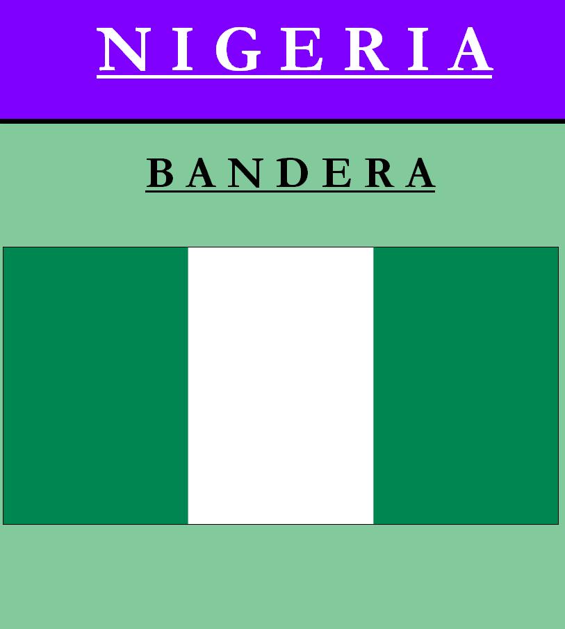 Escudo de BANDERA DE NIGERIA