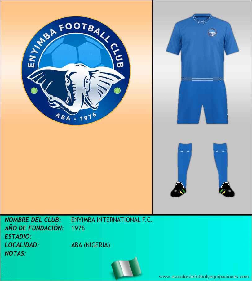 Escudo de ENYIMBA INTERNATIONAL F.C.