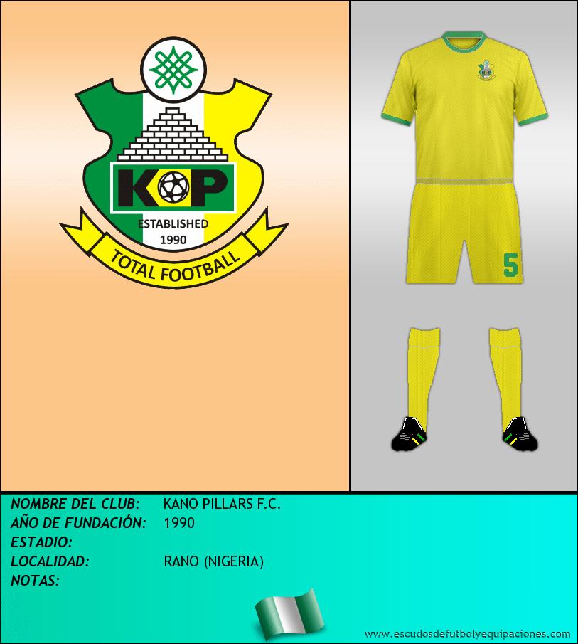 Escudo de KANO PILLARS F.C.