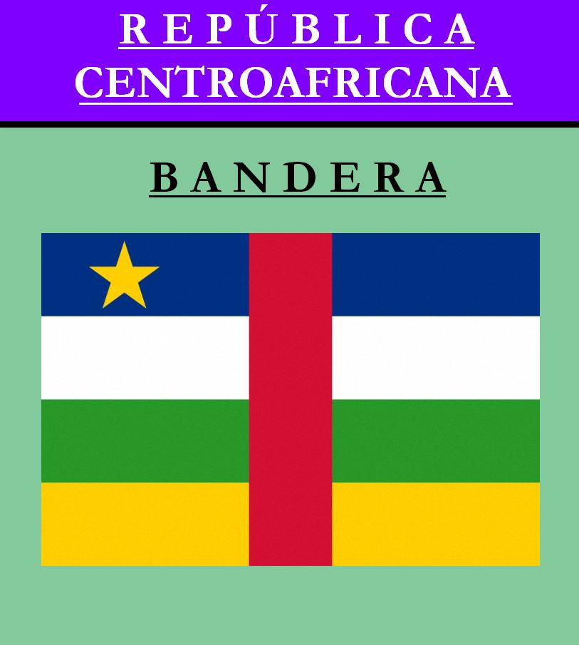 Escudo de BANDERA DE REPÚBLICA CENTROAFRICANA