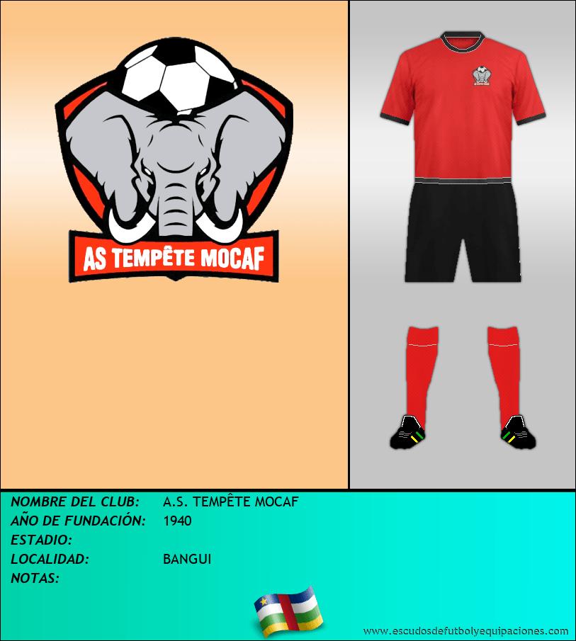 Escudo de A.S. TEMPÊTE MOCAF