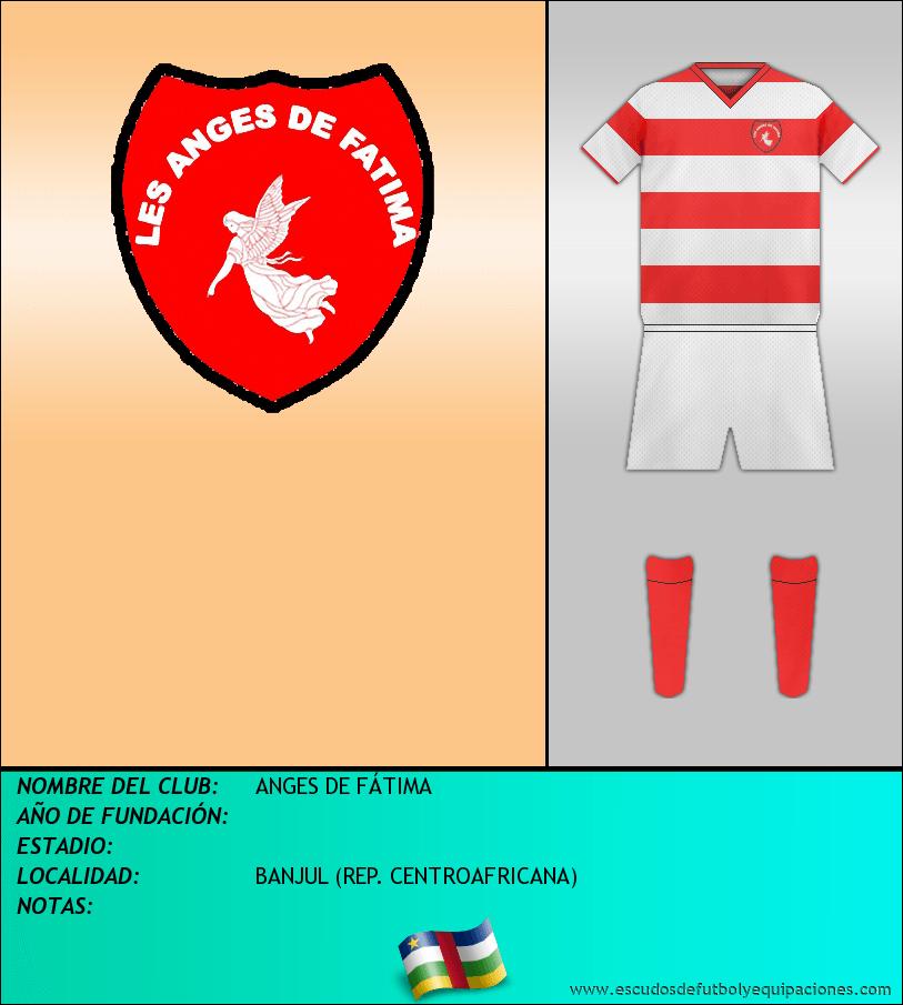 Escudo de ANGES DE FÁTIMA