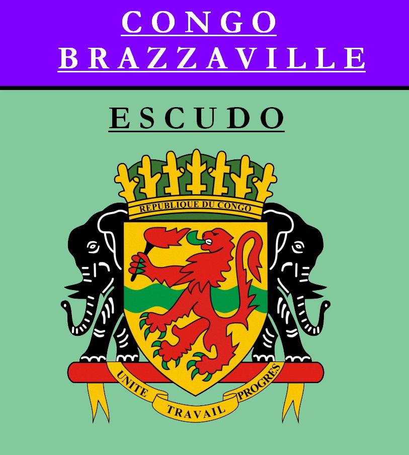 Escudo de ESCUDO DE REPÚBLICA DEL CONGO