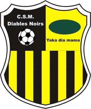 Escudo de DIABLES NOIRS (REPÚBLICA DEL CONGO)