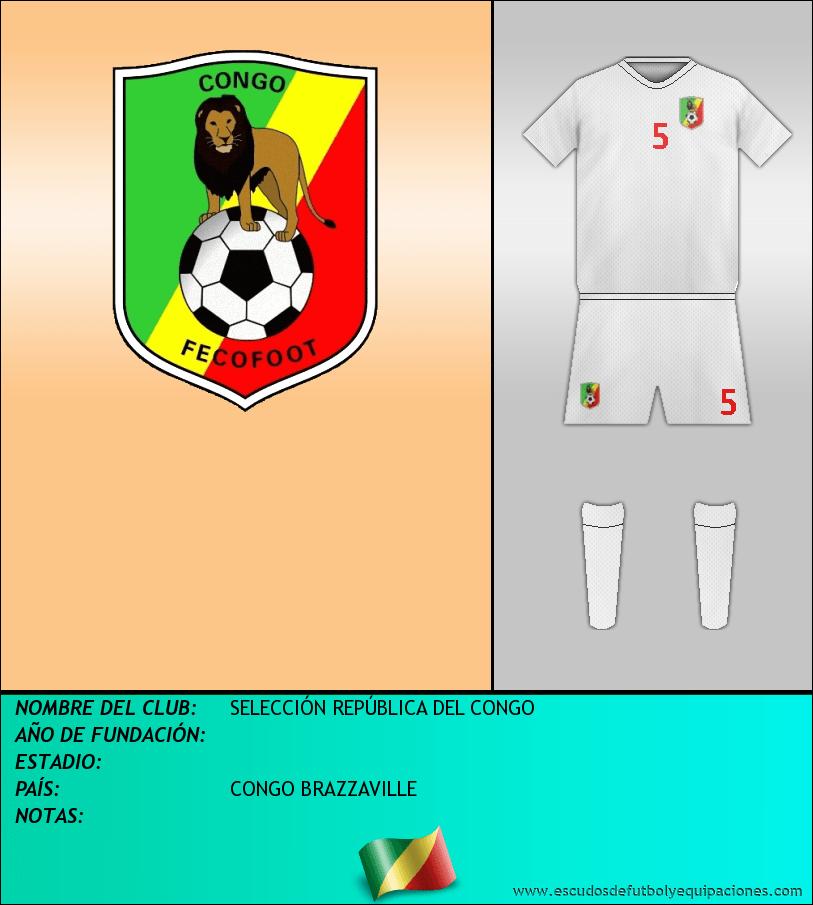 Escudo de SELECCIÓN REPÚBLICA DEL CONGO