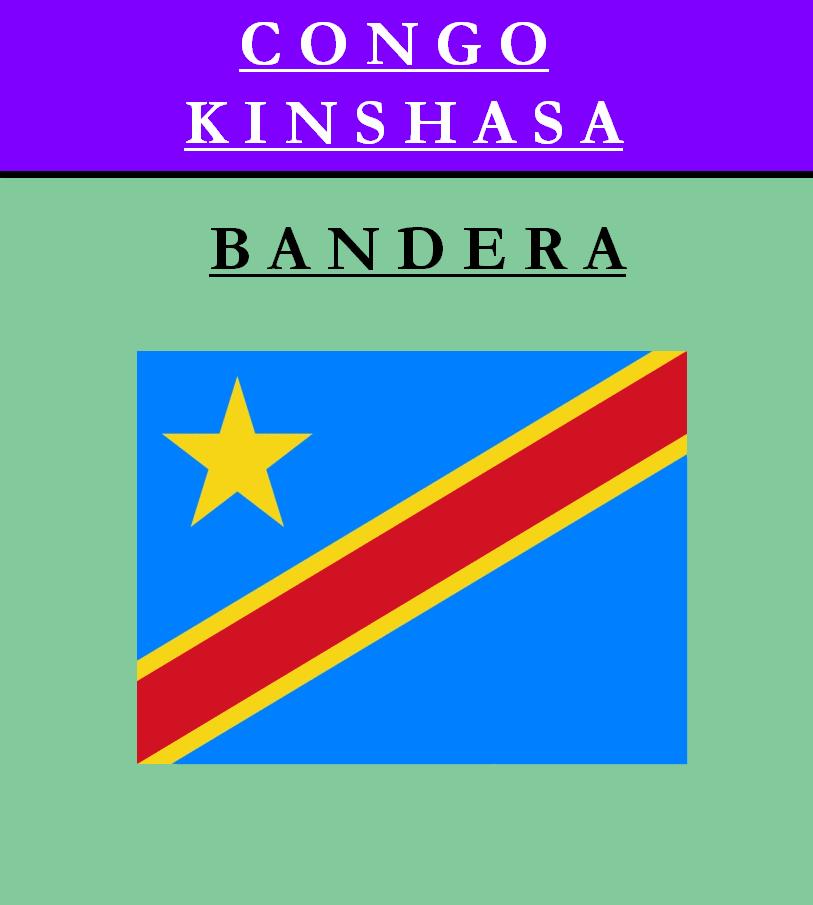Escudo de BANDERA DE REPÚBLICA DEMOCRÁTICA DEL CONGO