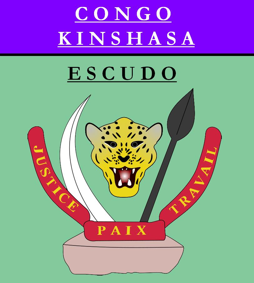 Escudo de ESCUDO DE REPÚBLICA DEMOCRÁTICA DEL CONGO