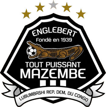Escudo de TP MAZEMBE (REPÚBLICA DEMOCRÁTICA DEL CONGO)