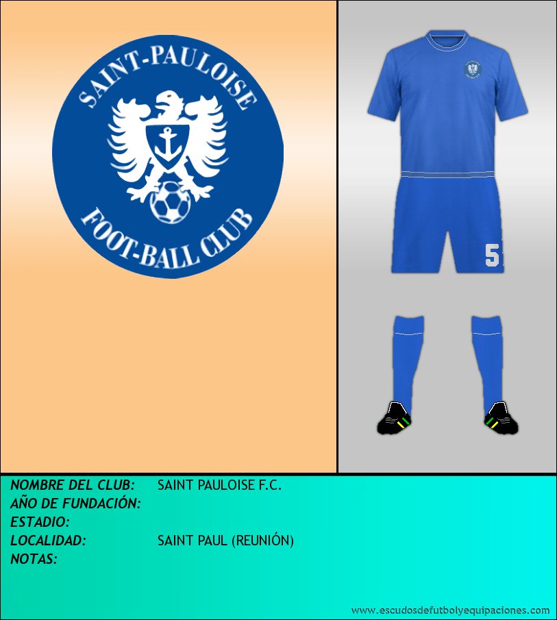 Escudo de SAINT PAULOISE F.C.