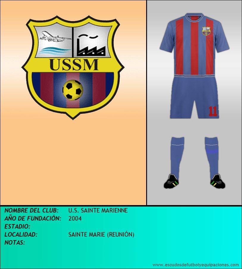 Escudo de U.S. SAINTE MARIENNE