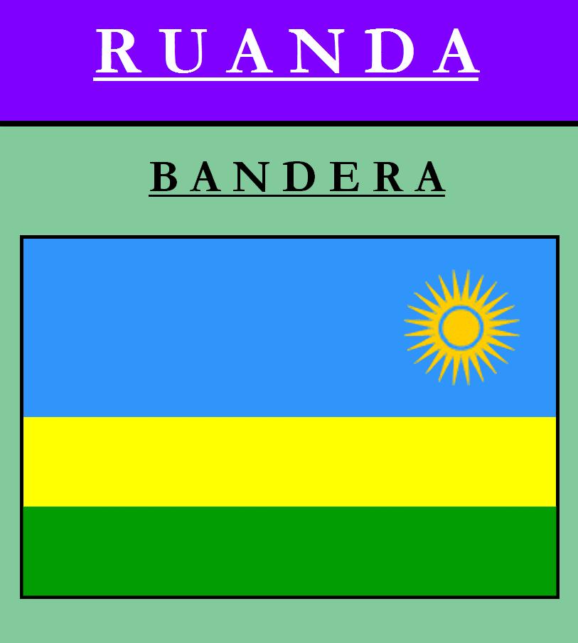 Escudo de BANDERA DE RUANDA