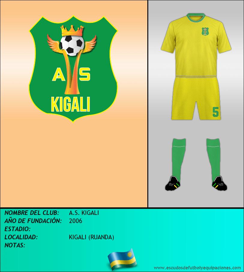 Escudo de A.S. KIGALI