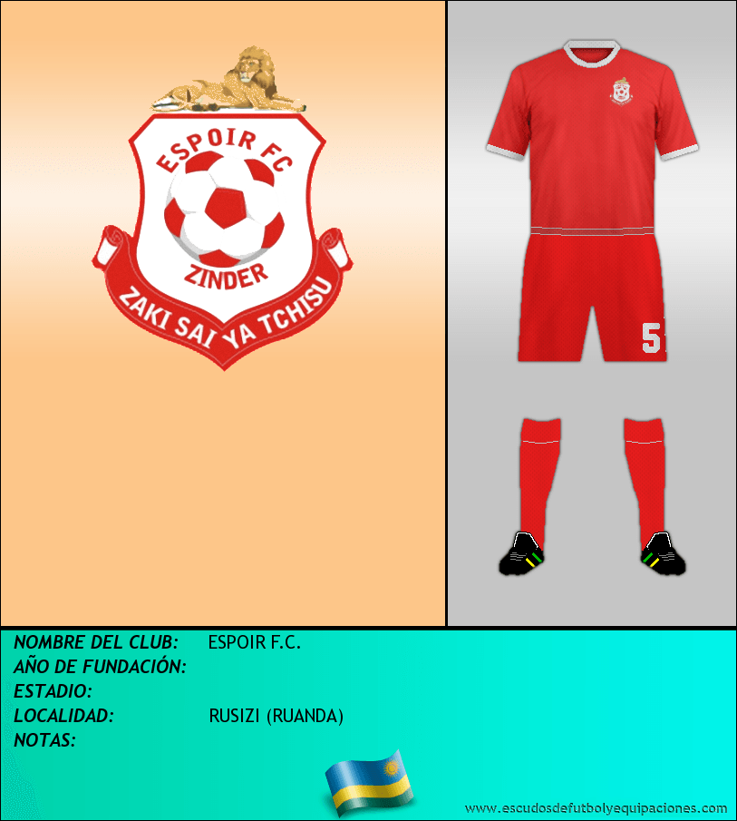 Escudo de ESPOIR F.C.