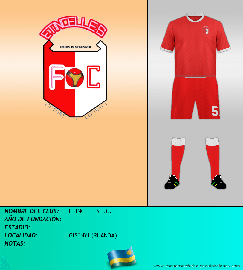 Escudo de ETINCELLES F.C.