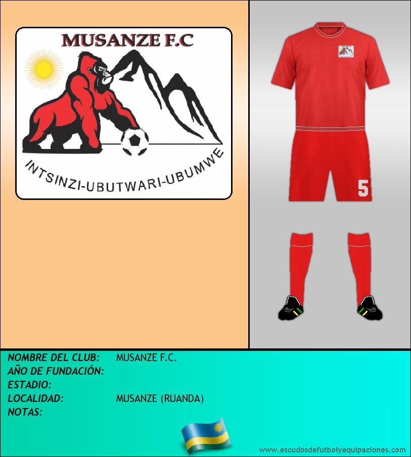 Escudo de MUSANZE F.C.