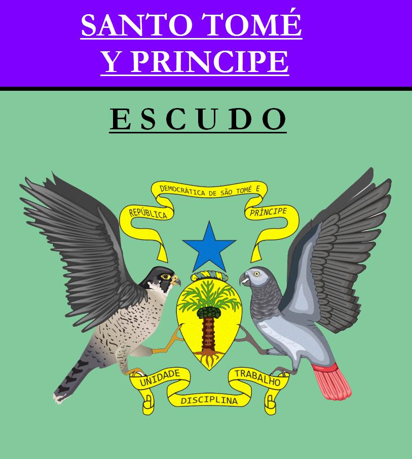Escudo de ESCUDO DE SANTO TOMÉ Y PRÍNCIPE