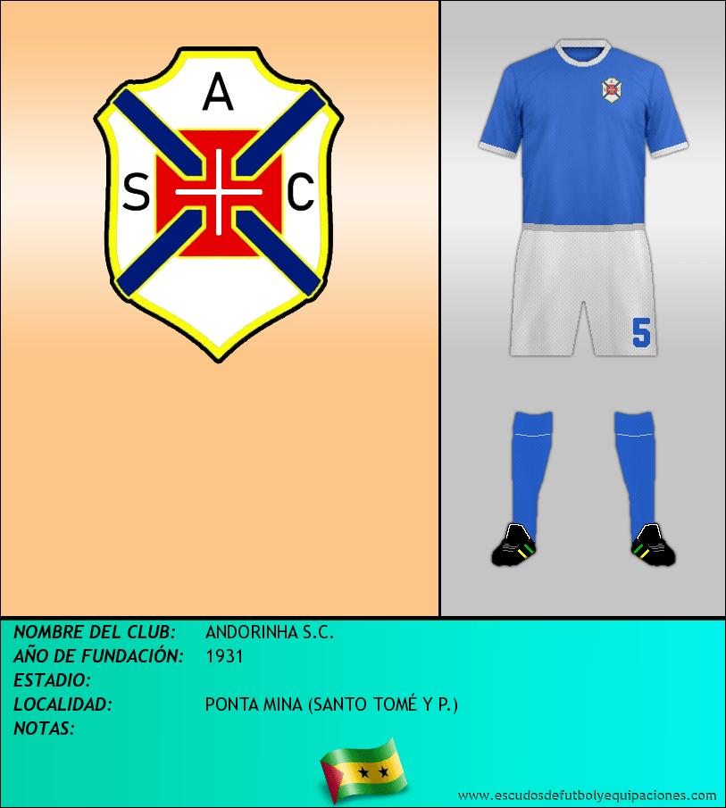Escudo de ANDORINHA S.C.