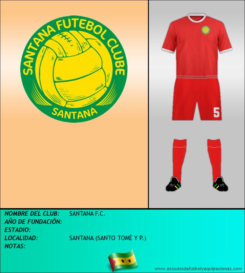 Escudo de SANTANA F.C.