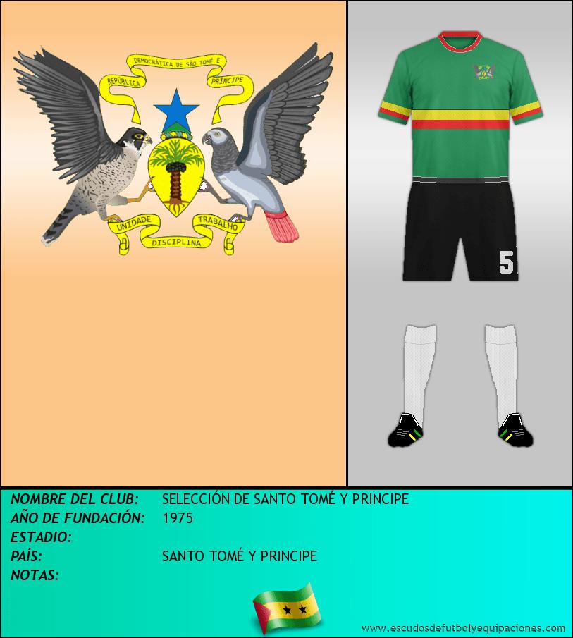 Escudo de SELECCIÓN DE SANTO TOMÉ Y PRINCIPE