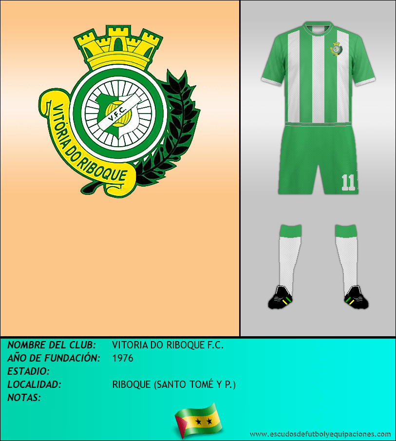 Escudo de VITORIA DO RIBOQUE F.C.