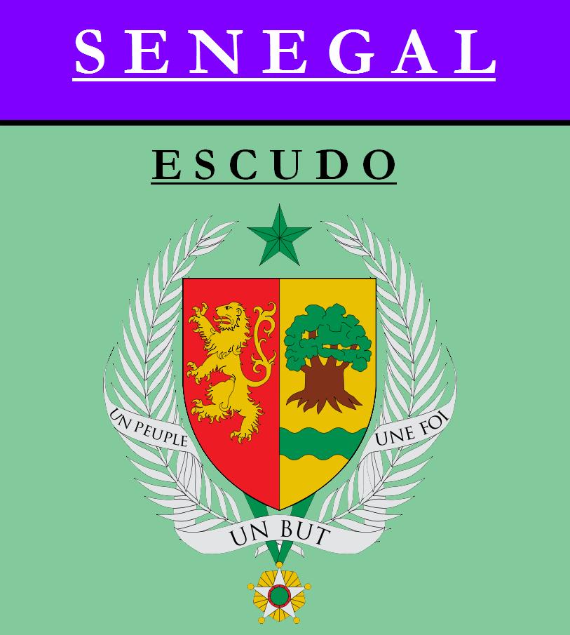 Escudo de ESCUDO DE SENEGAL