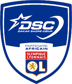 Escudo de D.S.C. DAKAR SACRÉ COEUR (SENEGAL)