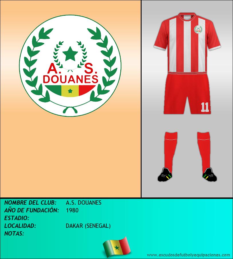 Escudo de A.S. DOUANES