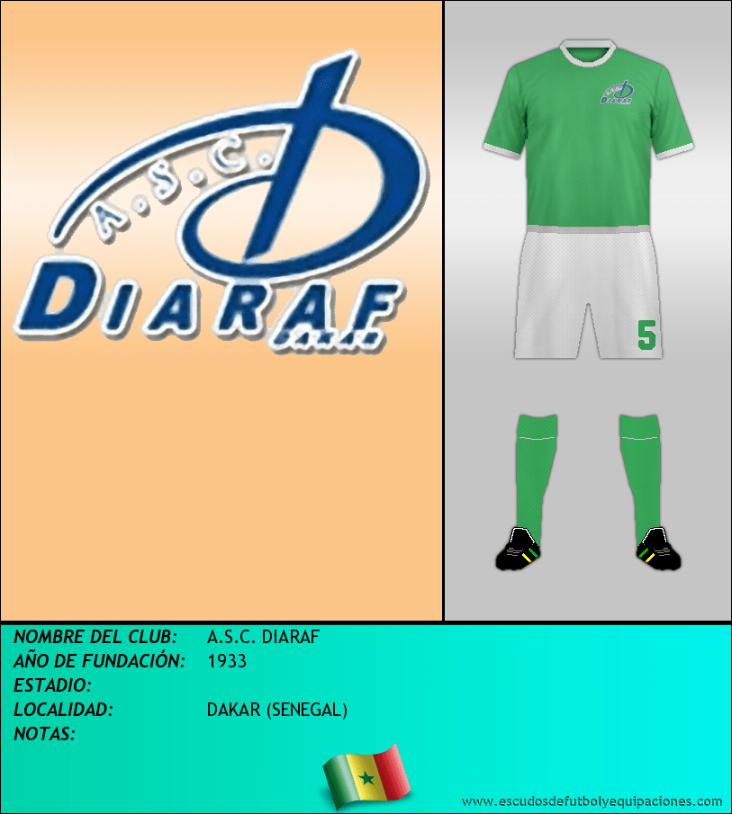 Escudo de A.S.C. DIARAF