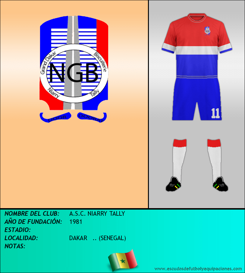 Escudo de A.S.C. NIARRY TALLY