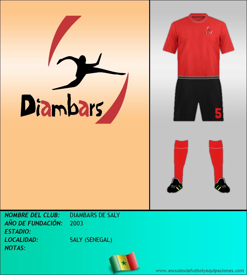 Escudo de DIAMBARS DE SALY