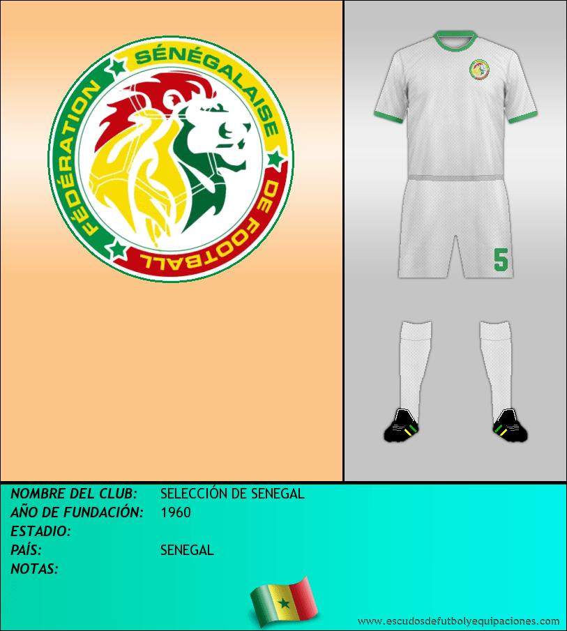 Escudo de SELECCIÓN DE SENEGAL