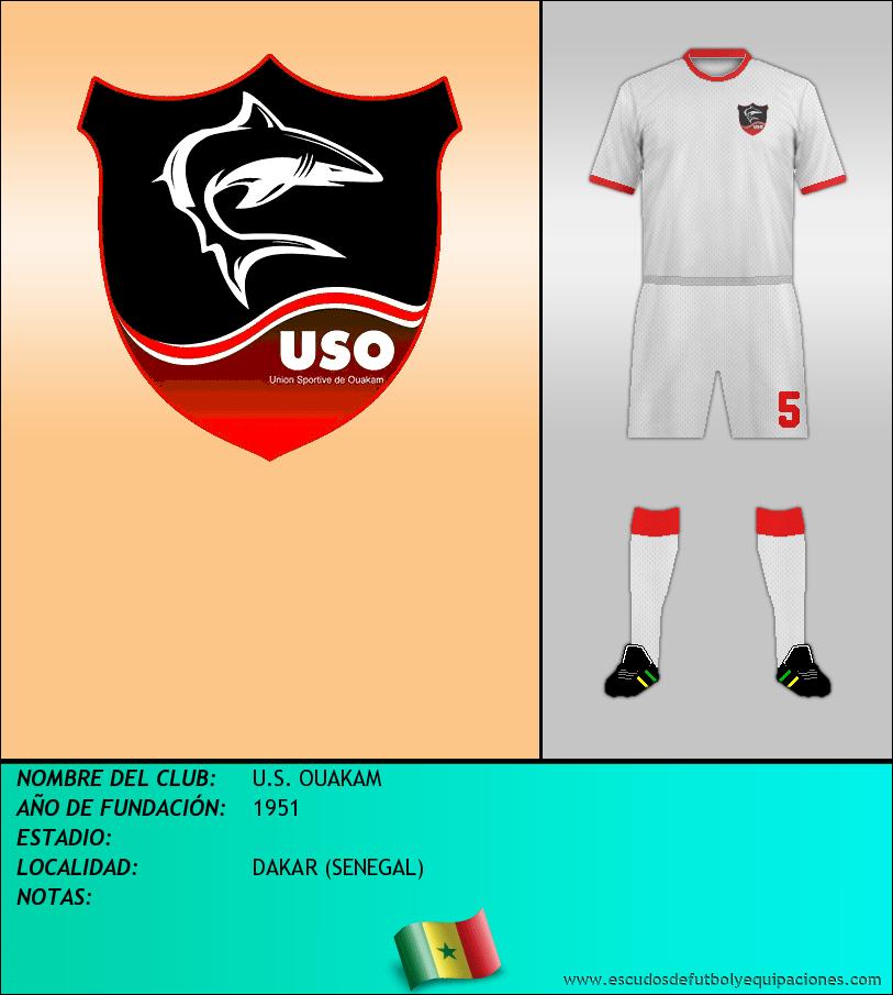 Escudo de U.S. OUAKAM