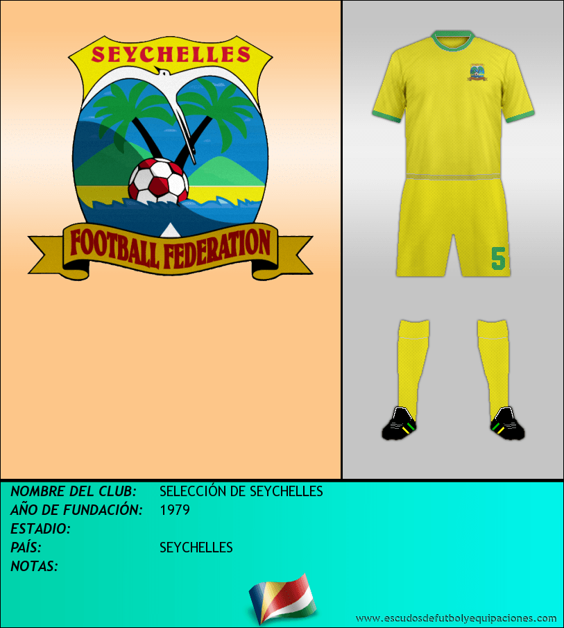 Escudo de SELECCIÓN DE SEYCHELLES