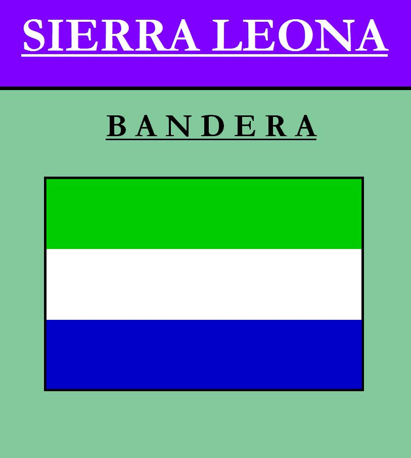Escudo de BANDERA DE SIERRA LEONA