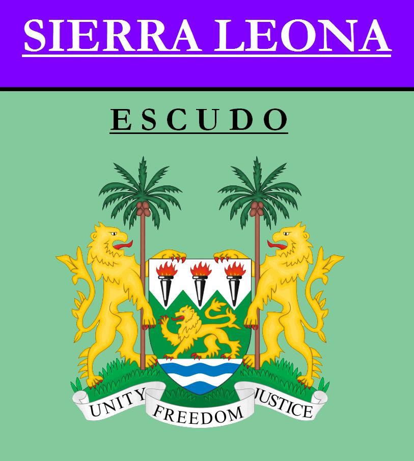 Escudo de ESCUDO DE SIERRA LEONA