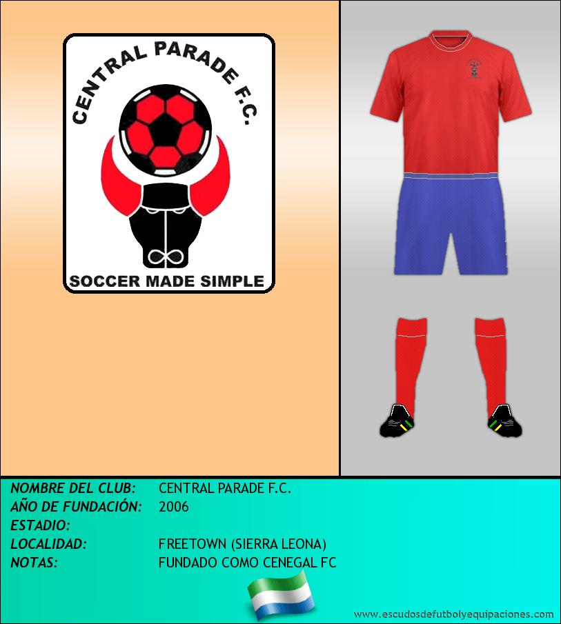 Escudo de CENTRAL PARADE F.C.
