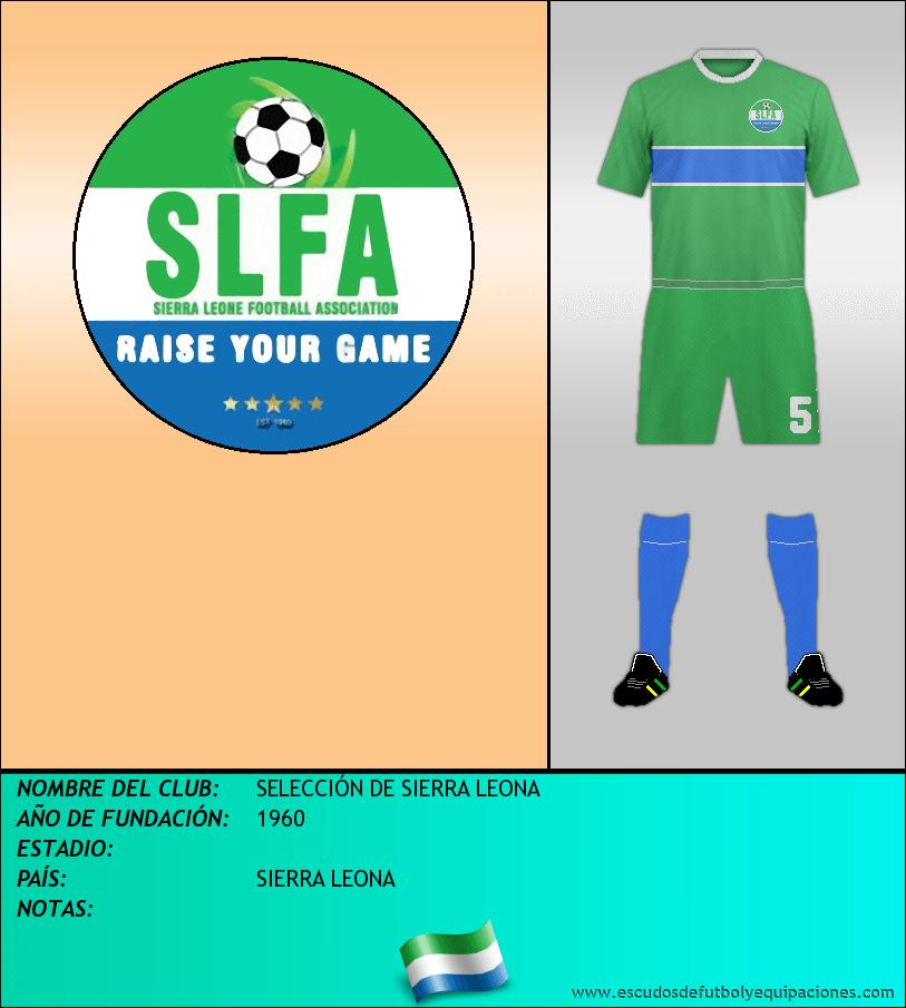 Escudo de SELECCIÓN DE SIERRA LEONA