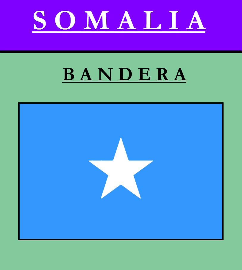 Escudo de BANDERA DE SOMALÍA