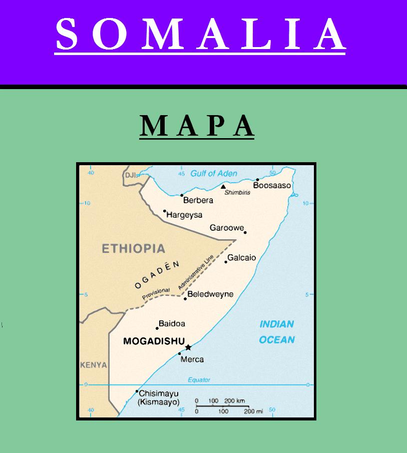 Escudo de MAPA DE SOMALÍA