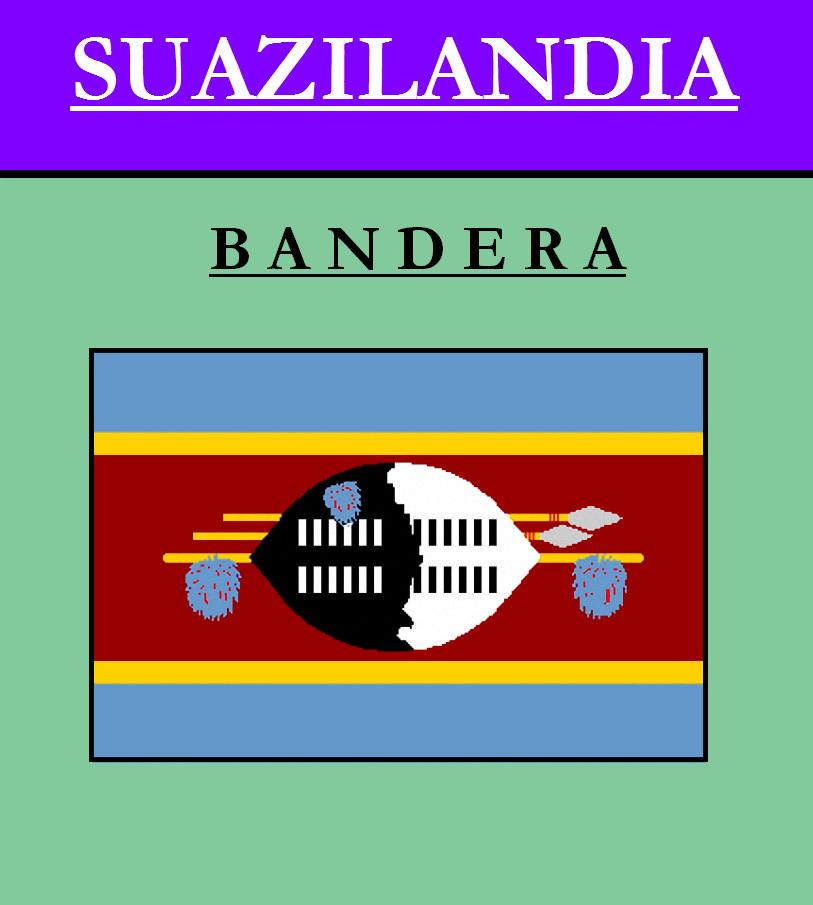 Escudo de BANDERA DE SUAZILANDIA