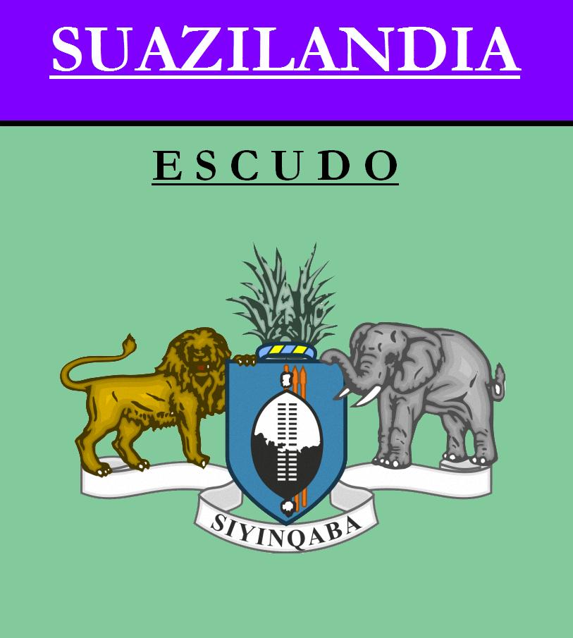 Escudo de ESCUDO DE SUAZILANDIA