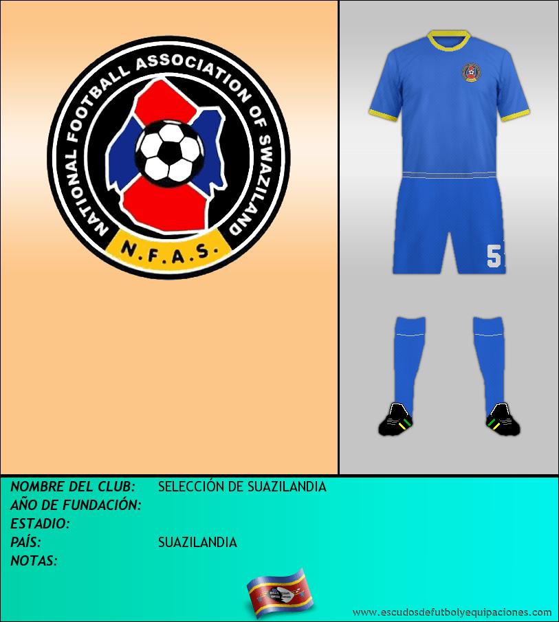 Escudo de SELECCIÓN DE SUAZILANDIA
