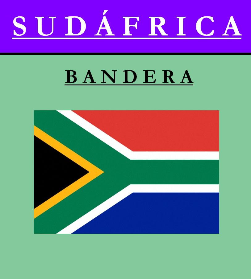 Escudo de BANDERA DE SUDÁFRICA