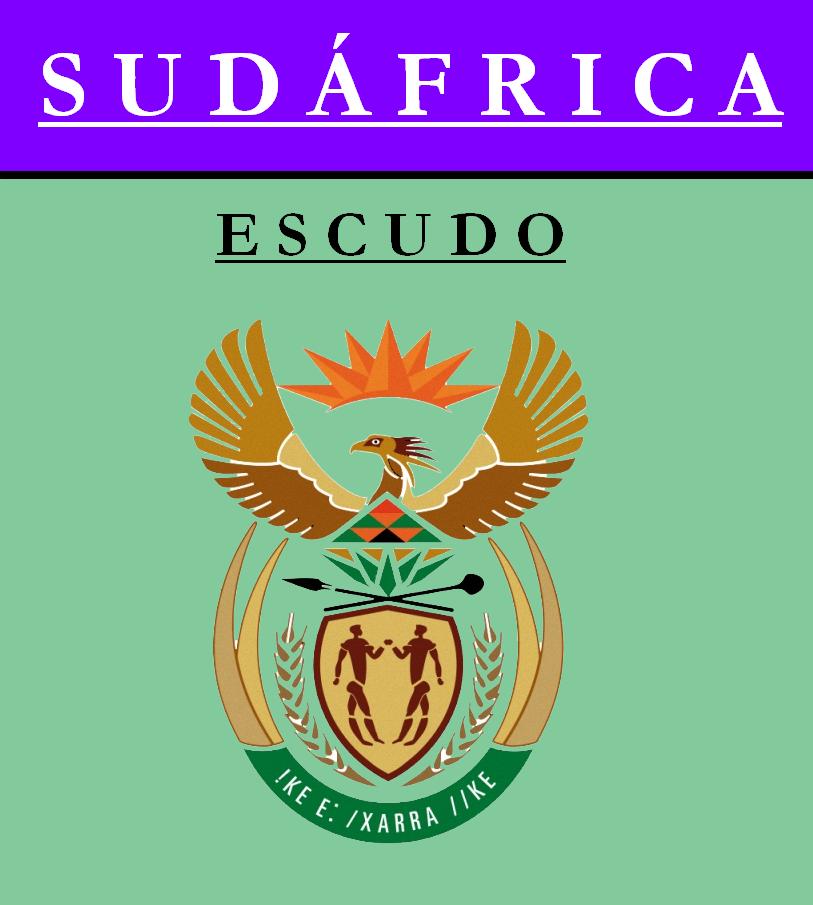 Escudo de ESCUDO DE SUDÁFRICA