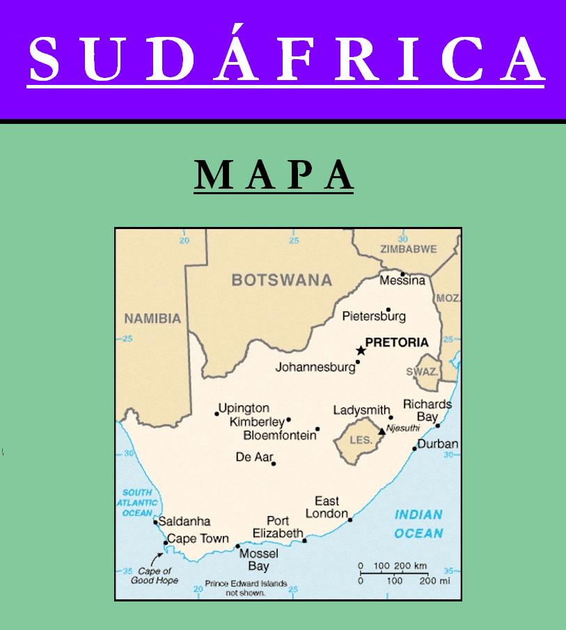 Escudo de MAPA DE SUDÁFRICA