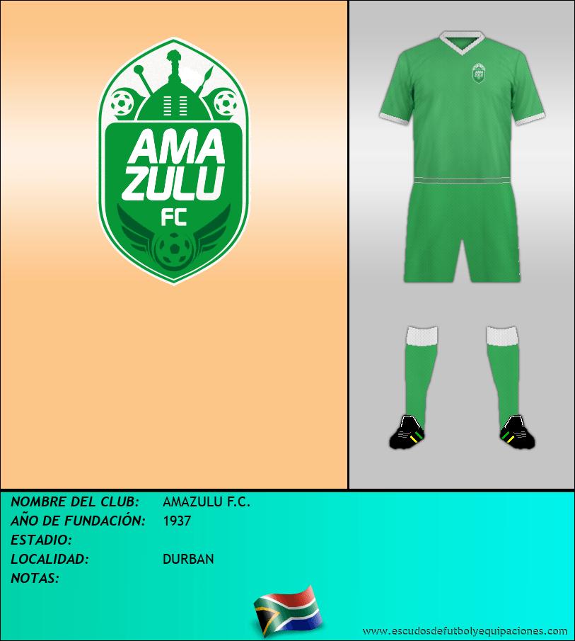 Escudo de AMAZULU F.C.