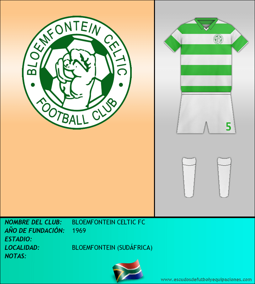 Escudo de BLOEMFONTEIN CELTIC FC