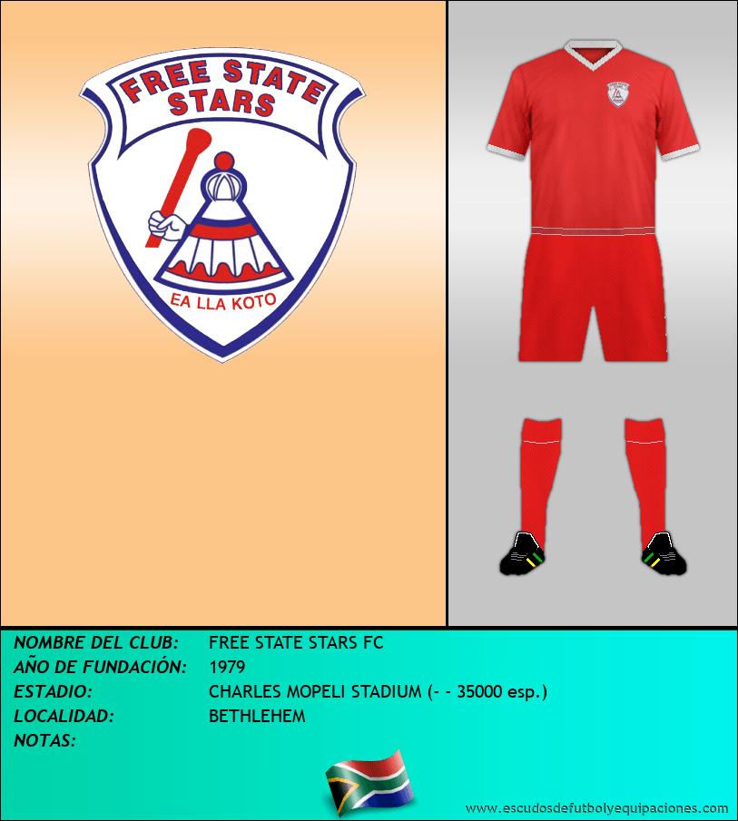 Escudo de FREE STATE STARS FC
