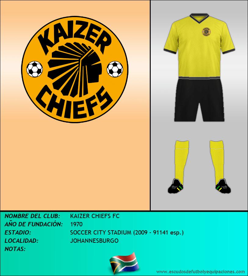 Escudo de KAIZER CHIEFS FC